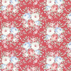 Tilda Fabrics - Old Rose - Raspberry Lydia (100202)