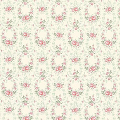 Tilda Fabrics - Old Rose - Red Rose Lucy (100201)