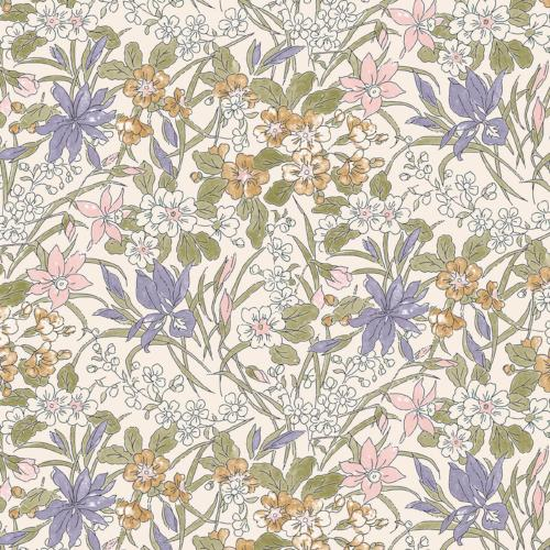 Liberty of London - The English Garden - Ricardo Purple (04775606Z)