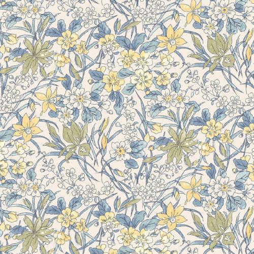 Liberty of London - The English Garden - Ricardo Yellow (04775606Y)