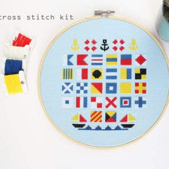 Diana Watters Handmade - Sailor's Alphabet Cross Stitch Kit