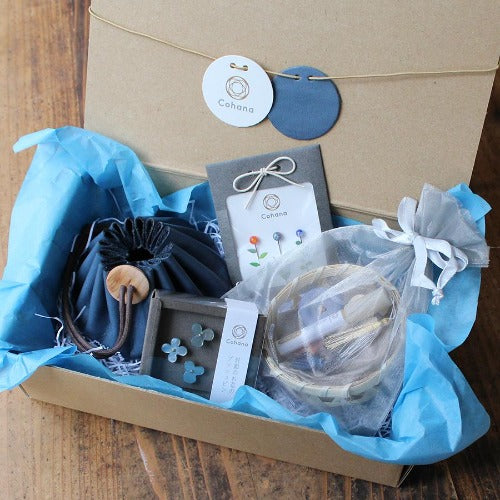 Small Sewing Set Blue