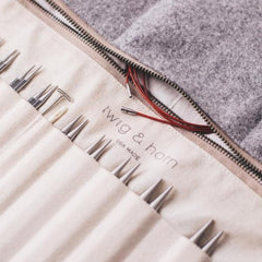 Twig & Horn - Standard Wool Interchangeable Needle Case