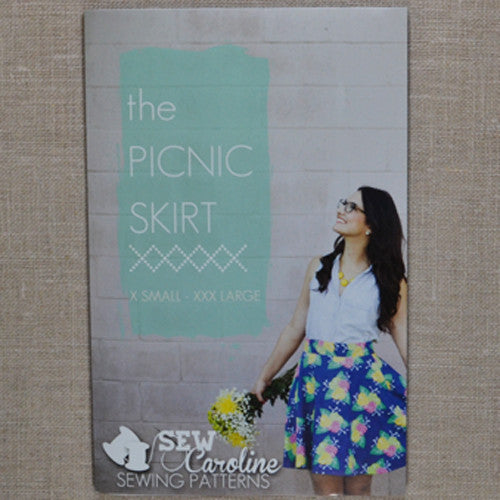 Sew Caroline - The Picnic Skirt
