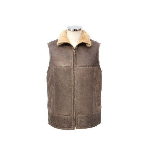 Front - Eastern Counties Leather - Gilet sans manches Harvey - Homme