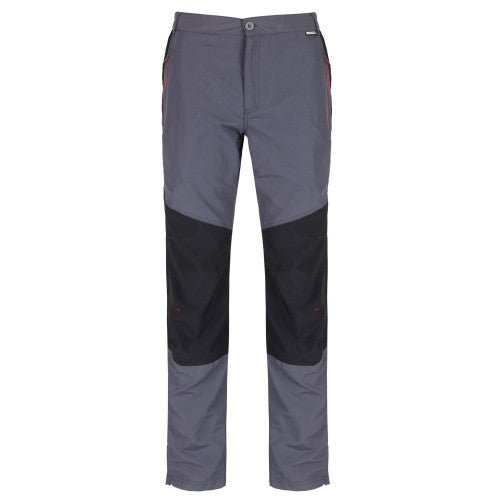 Front - Regatta Great Outdoors Sungari - Pantalon de randonnée résistant à l'eau - Homme