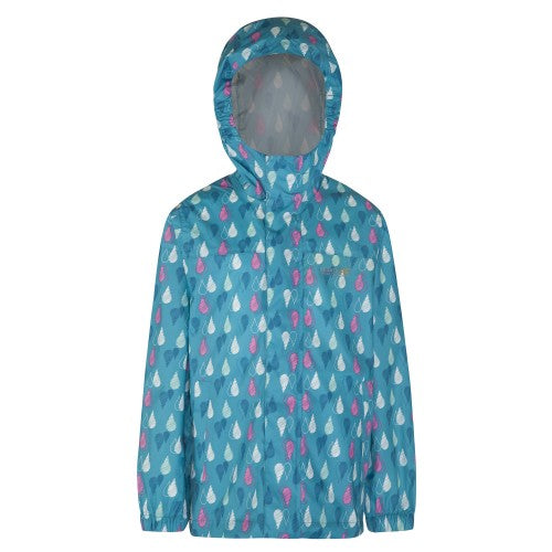 Front - Regatta Pack It - Veste imperméable - Enfant unisexe