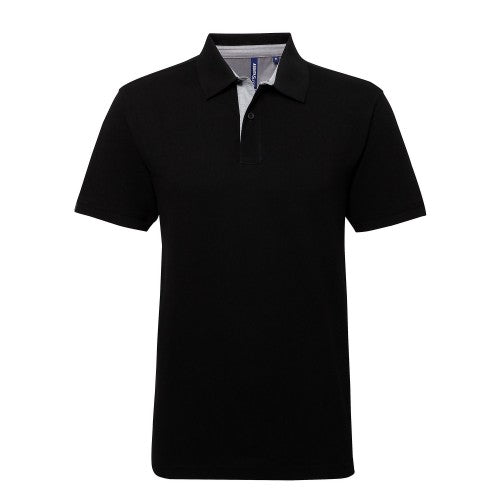 Front - Asquith & Fox - Polo uni - Homme