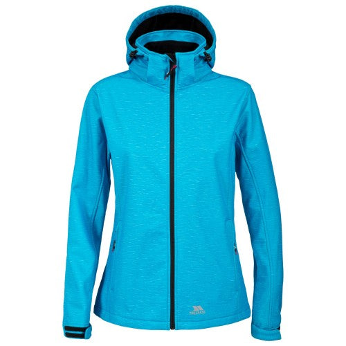 Front - Trespass Paulina - Veste softshell imperméable - Femme