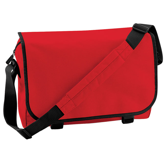 Rouge - Front - Bagbase - Sac messager - 11 litres