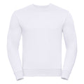 Blanc - Front - Russell - Sweat AUTHENTIC - Homme