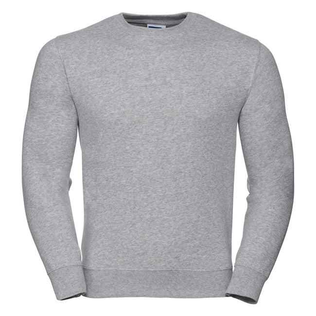 Gris clair - Front - Russell - Sweat AUTHENTIC - Homme