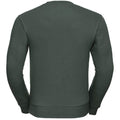 Vert bouteille - Back - Russell - Sweat AUTHENTIC - Homme