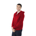 Rouge - Lifestyle - Fruit Of The Loom - Sweatshirt léger à capuche - Homme
