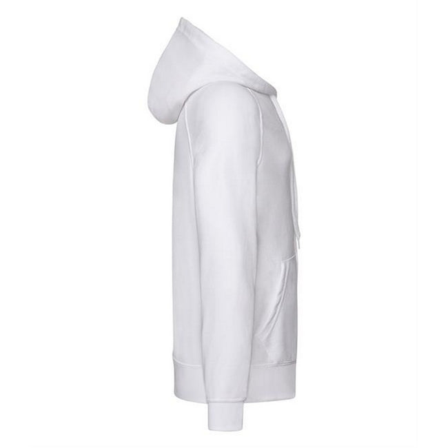 Blanc - Back - Fruit Of The Loom - Sweatshirt léger à capuche - Homme