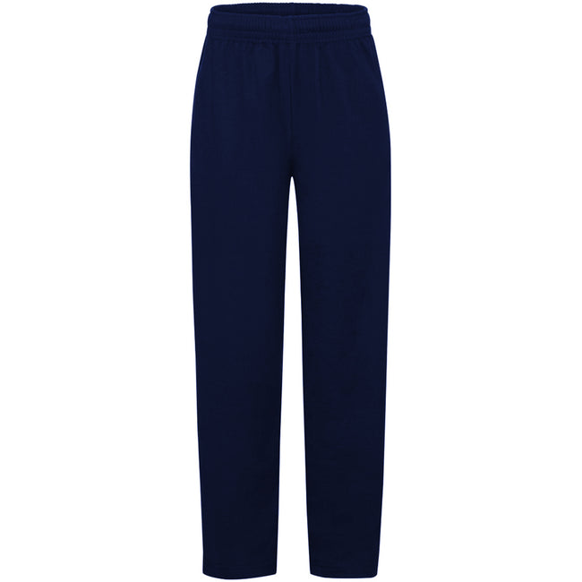 Gris - Side - Fruit Of The Loom - Pantalon de jogging - Enfant