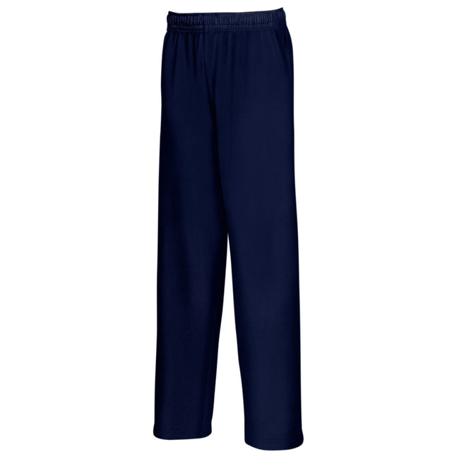 Bleu marine profond - Front - Fruit Of The Loom - Pantalon de jogging - Enfant