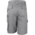 Gris - Back - Result Work-Guard - Short de travail - Homme