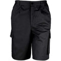 Noir - Front - Result Work-Guard - Short de travail - Homme