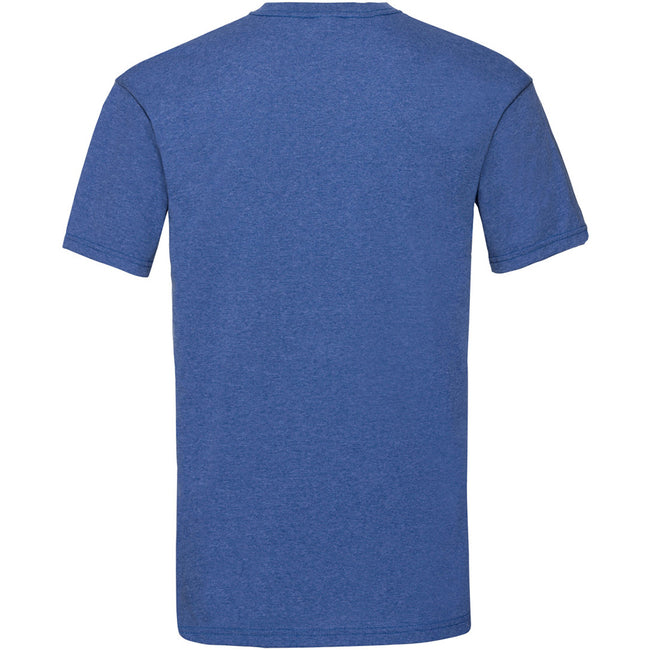 Bleu roi chiné - Back - Fruit Of The Loom - T-shirt manches courtes - Homme