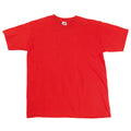 Rouge - Side - T-shirt à manches courtes Fruit Of The Loom pour homme