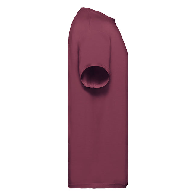 Olive - Side - T-shirt à manches courtes Fruit Of The Loom pour homme