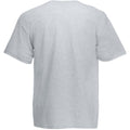 Gris clair - Back - T-shirt à manches courtes Fruit Of The Loom pour homme