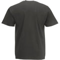 Graphite clair - Back - T-shirt à manches courtes Fruit Of The Loom pour homme