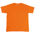 Orange - Front - T-shirt à manches courtes Fruit Of The Loom pour homme