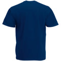 Bleu marine - Back - T-shirt à manches courtes Fruit Of The Loom pour homme