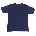 Bleu marine - Side - T-shirt à manches courtes Fruit Of The Loom pour homme