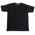 Noir - Side - T-shirt à manches courtes Fruit Of The Loom pour homme