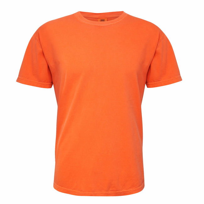 Orange brûlé - Front - Comfort Colours - T-shirt à manches courtes - Adulte unisexe