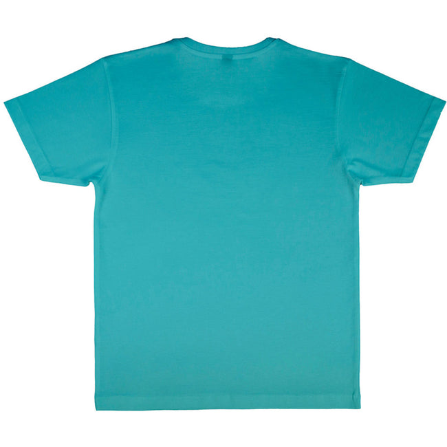 Turquoise - Side - Nakedshirt Larry - T-shirt - Homme