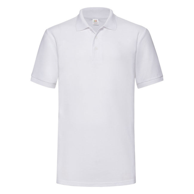 Blanc - Front - Fruit Of The Loom 65-35 - Polo à manches courtes - Homme