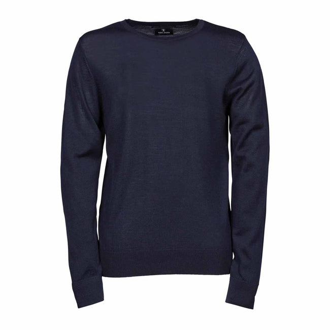 Bleu marine - Front - Tee Jays - Pull - Homme