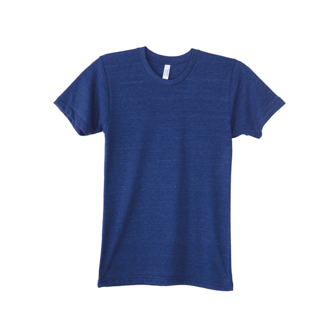 Bleu marine - Front - American Apparel - T-shirt TRIBLEND TRACK - Homme