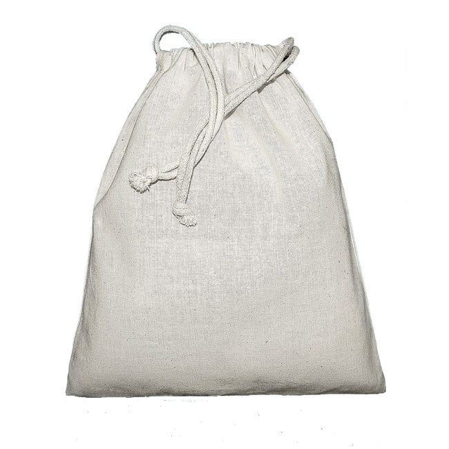 Naturel - Front - Jassz Birch - Sac large avec cordon de serrage (Lot de 2)