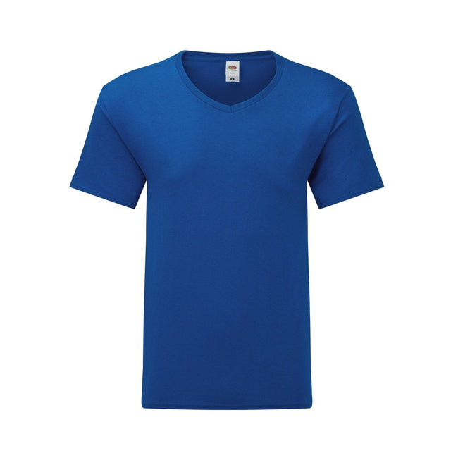 Bleu roi - Front - Fruit Of The Loom - T-shirt manches courtes ICONIC - Homme