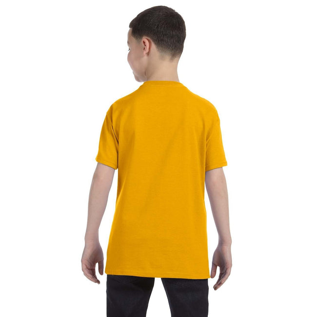 Or - Side - Gildan - T-Shirt en coton - Enfant