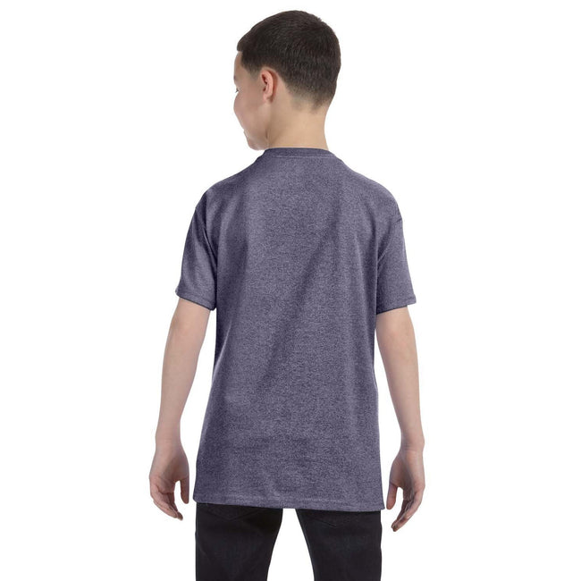 Graphite - Side - Gildan - T-Shirt en coton - Enfant