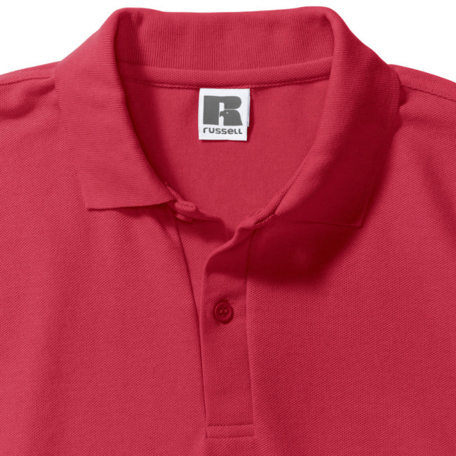 Rouge - Lifestyle - Russell - Polo à manches courtes - Homme