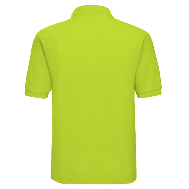 Jaune - Front - Russell - Polo à manches courtes - Homme