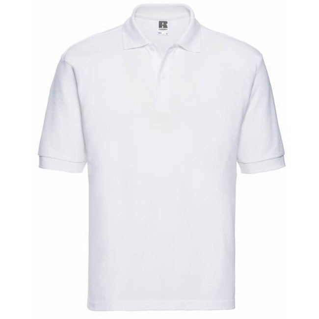 Blanc - Front - Russell - Polo à manches courtes - Homme