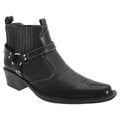 Noir - Side - US Brass Eastwood - Bottines style cowboy - Homme