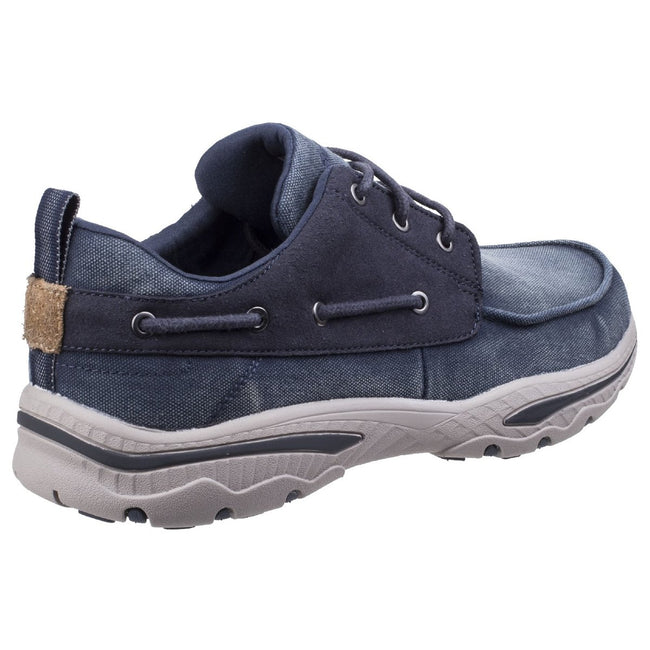 Bleu marine - Side - Skechers - Baskets CRESTON VOSEN - Homme