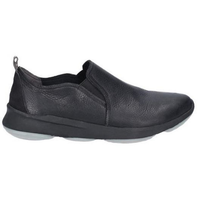Noir - Side - Hush Puppies - Mocassins GLOVE - Homme