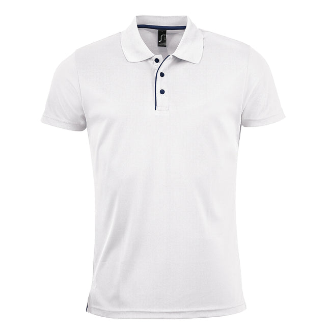 Rouge - Front - SOLS - Polo sport - Homme