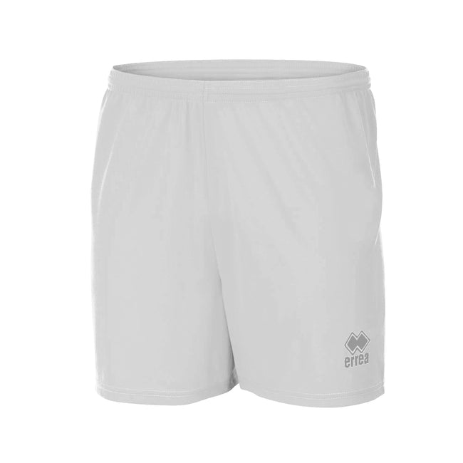 Blanc - Front - Errea New Skin - Short de football - Homme