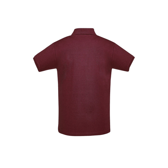 Gris - Front - SOLS - Polo manches courtes PERFECT - Homme